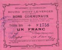 France 1 F Oisy-Le-Verger