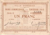 France 1 F Orchies