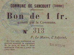 France 1 F Sancourt