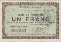 France 1 F Wallers-Trelon Bon de monnaie