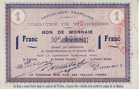 France 1 F Wignehies