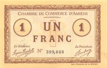 France 1 Franc - Amiens Chamber of Commerce 1915 - AU