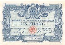France 1 Franc - Bourges Chamber of Commerce 1917 - aUNC
