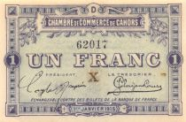 France 1 Franc - Cahors Chamber of Commerce 1915 - aUNC