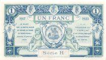France 1 Franc - Chambre de Commerce d\'Aurillac et du Cantal 1917 - P.NEUF