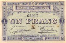 France 1 Franc - Chambre de Commerce de Cahors 1915 - P.NEUF
