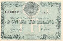France 1 Franc - Chambre de Commerce de Châteauroux 1915 - P.NEUF