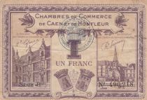 France 1 Franc - Chambre de Commerce de Honfleur 1920 - TTB