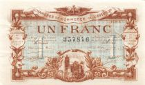 France 1 Franc - Chambre de Commerce de l\'Aveyron 1917 - SUP