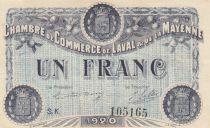 France 1 Franc - Chambre de Commerce de Laval 1920 - SUP