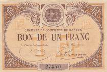 France 1 Franc - Chambre de Commerce de Nantes - SPL