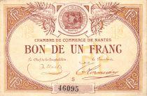France 1 Franc - Chambre de Commerce de Nantes 1918 - TTB