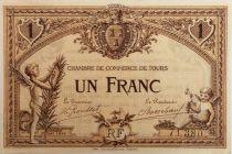 France 1 Franc - Chambre de Commerce de Nice 1917 - SUP