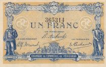 France 1 Franc - Chambre de Commerce de Périgueux 1917 - TTB+