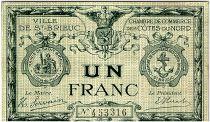 France 1 Franc - Chambre de Commerce de Saint Brieuc ND (1914-1918) - TTB