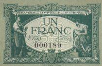 France 1 Franc - Chambre de Commerce de Saint-Etienne 1921 - P.NEUF