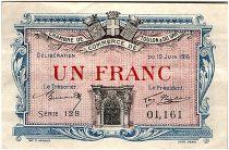 France 1 Franc - Chambre de Commerce de Toulon 1916 - TTB+