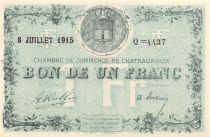 France 1 Franc - Châteauroux Chamber of Commerce 1915 - aUNC
