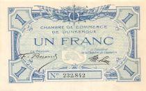 France 1 Franc - Dunkirk Chamber of Commerce - AU