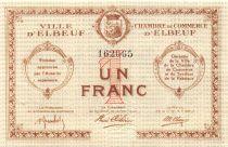 France 1 Franc - Elbeuf Chamber of Commerce - AU