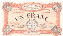 France 1 Franc - Eure-et-Loir Chamber of Commerce 1917 - AU