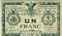 France 1 Franc - Saint Brieuc Chamber of Commerce ND (1914-1918) - VF