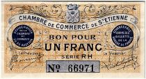 France 1 Franc - St-Etienne Chamber of Commerce 1914 - XF