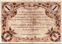 France 1 Franc - Tours Chamber of Commerce 1915 - VF