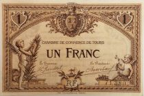 France 1 Franc - Tours Chamber of Commerce 19217- XF