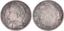 France 1 Franc, Napoleon III - 1868 BB