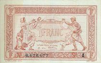 France 1 Franc  Trésorerie aux armées  - 1917 A 0.620.677