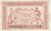France 1 Franc  Trésorerie aux armées  - 1917 H 0.162.662