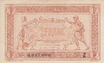 France 1 Franc  Trésorerie aux armées  - 1919  Z 0.337.080