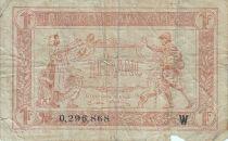 France 1 Franc  Trésorerie aux armées  - 1919 W 0.296.868