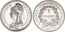 France 1 Franc 200 Ans de la République - 1992 - ESSAI