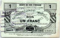 France 1 Franc Avesnes Et Solesmes Prisches