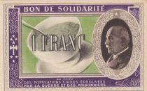 France 1 Franc Bon de Solidarité - 1941-1942
