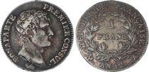 France 1 Franc Bonaparte 1 er Consul - an 12 A