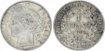 France 1 Franc Ceres - III e Republic - 1888 A Paris