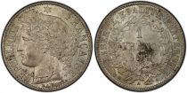 France 1 Franc Ceres - III e Republique - 1872 A Paris - PCGS MS 64