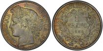 France 1 Franc Ceres - III e Republique - 1888 A Paris - PCGS MS 65