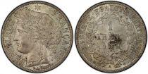 France 1 Franc Ceres - Third Republic - 1872 A Paris - PCGS MS 64