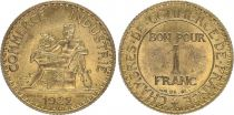 France 1 Franc Chambre de Commerce - 1922