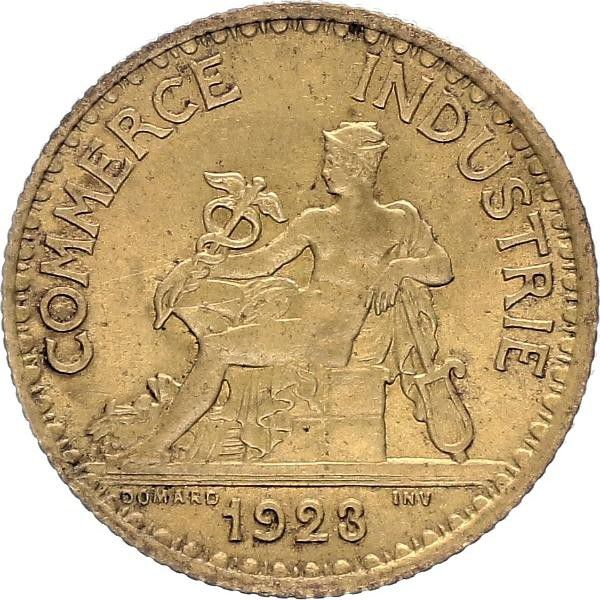 France 1 Franc Chambre de Commerce - 1923