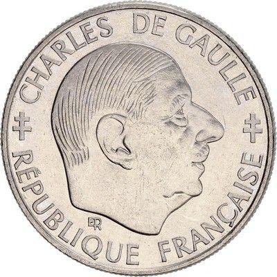 France 1 Franc Charles de Gaulle 1958-1988