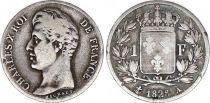 France 1 Franc Charles X - 1828 A Paris Silver