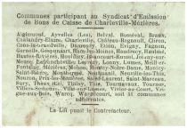 France 1 Franc Charleville-Mézières Commune - 1916