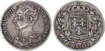 France 1 Franc Henri V - 1831 - Silver - VF