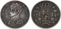 France 1 Franc Henri V - 1831 - Silver