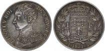 France 1 Franc Henri V Prétendant - 1831 - Argent